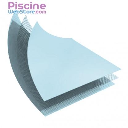 PVC armé bleu pâle