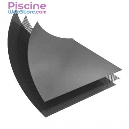 PVC armé gris foncé