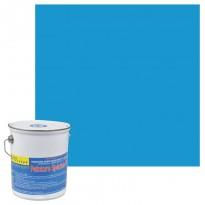 Peinture acrylique bleu France pour piscine