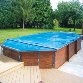 Bâche à barres Securit Pool Hors Sol Woody (au m2)