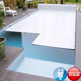 Volet piscine électrique hors sol First sans fin de course
