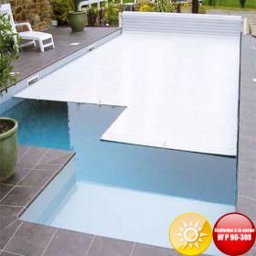 Volet piscine solaire hors sol First avec fin de course