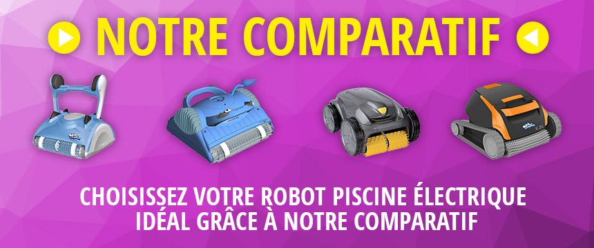 Choisissez votre robot piscine idéal grâce à notre comparatif